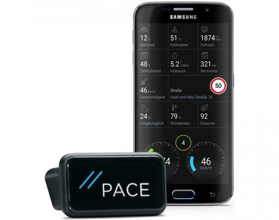 PACE App für iOS und Android - einfache Weg zum Smartcar