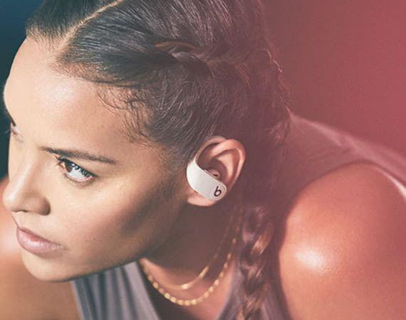 Die Powerbeats Pro von Beats by Dre sind mit festem Halt für Sportler konzipiert