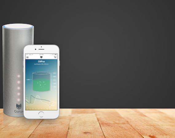 OilFox ist der intelligente Füllstandmesser für Ihren Heizöltank inkl. App
