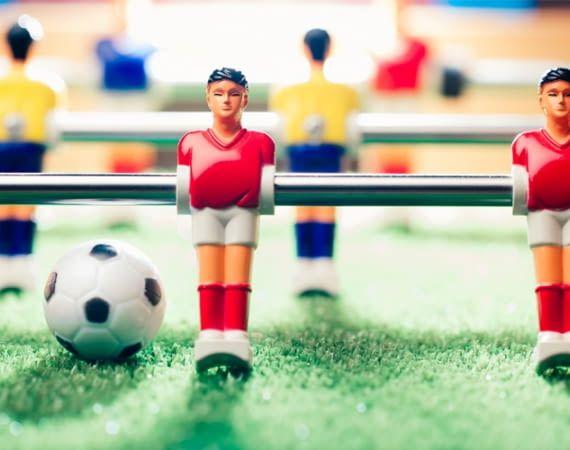 Die packeroo-App stärkt das Gemeinschaftsgefühl beim Kickern