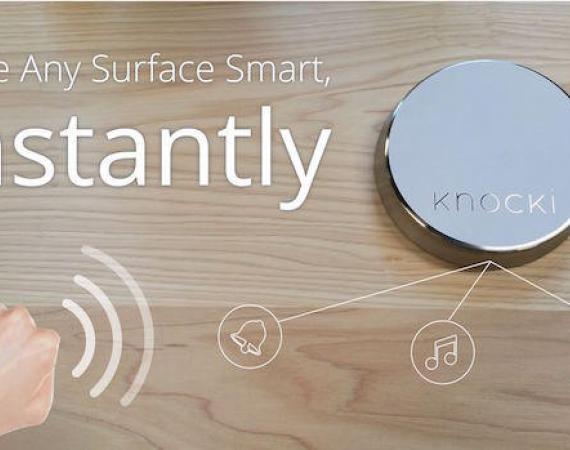 Knocki Remote Control für das Smart Home und das Internet der Dinge