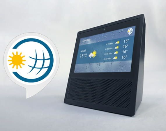Der WetterOnline-Skill gehört zu den beliebtesten Alexa Wetter-Skills