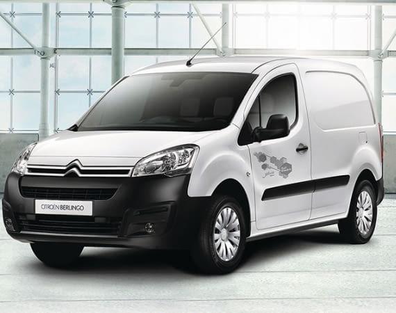 Der E-Transporter CITROËN Berlingo Electric bietet eine Spitzengeschwindigkeit von 100 km/h