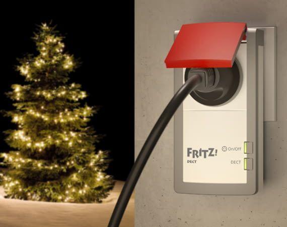 Weihnachtsbeleuchtung und FRITZ!DECT 210 mit Alexa steuern