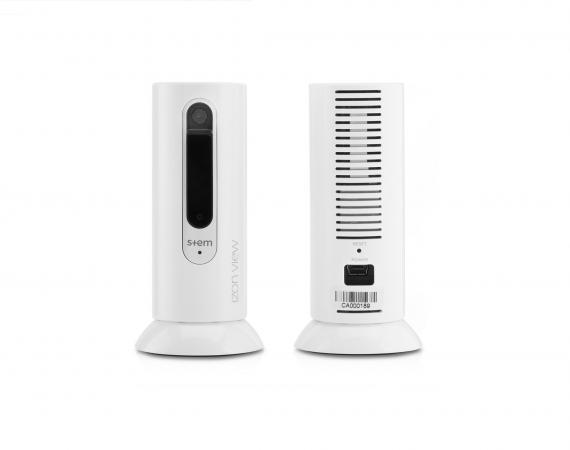 Verpackung der izon view Überwachungskamera für das Smart Home