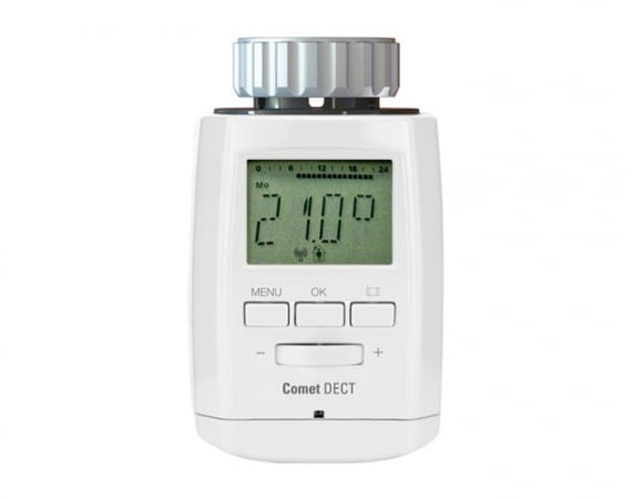 Das Thermostat Comet DECT ermöglicht ein individuelles Heizprogramm für jeden Tag