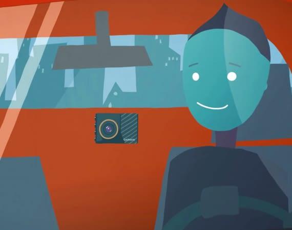 Die neue Dash Cam von Garmin sieht zu, dass Sie keinen Unfall bauen