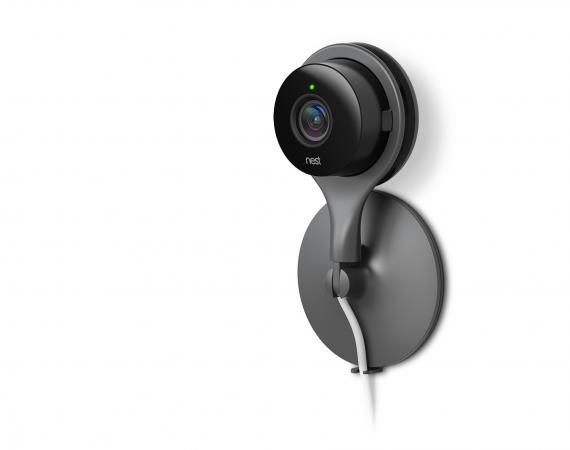 So sieht die neue Überwachungskamera von Nest, die Nest Cam aus