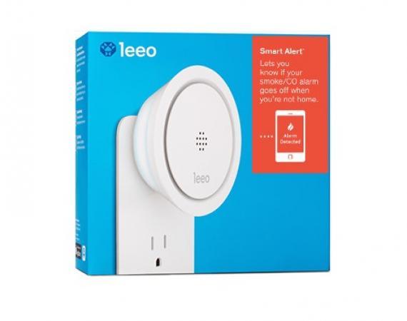 Leeo Smart Alert Nightlight - Rauchmelder und Nachtsicht