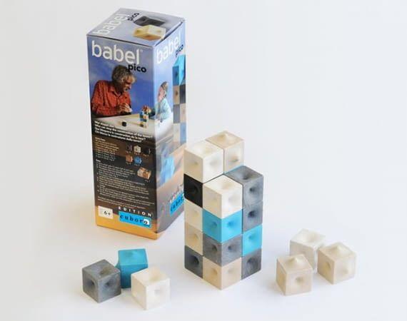 pico babel ist ein Strategiebauspiel für zwei Schlauköpfe ab 6 Jahren