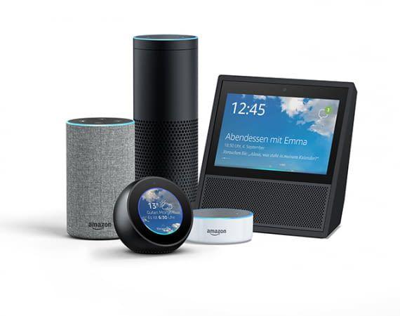 Amazons intelligente Lautsprecher: Echo, Echo Plus, Echo Dot, Echo Show und Echo Spot