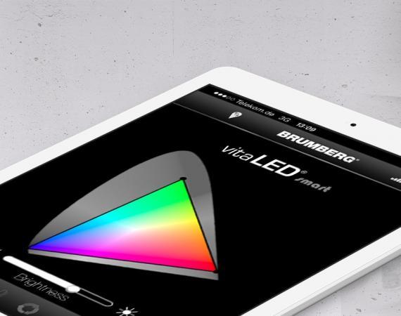 vitaLED smart Lichtsteuerung per App für iOS und Android von Brumberg