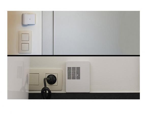 Abbildung der @home Sensoren für das Smart Home