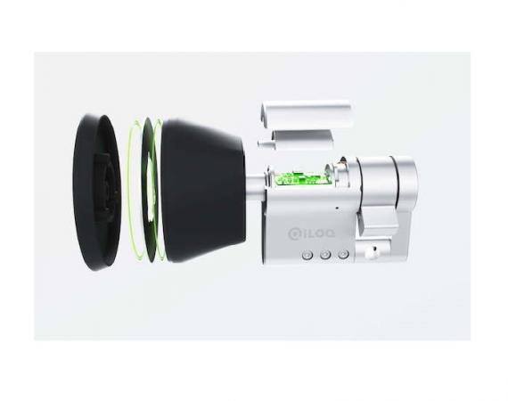 Abbildung des iLOQ NFC Türschloss-Zylinder