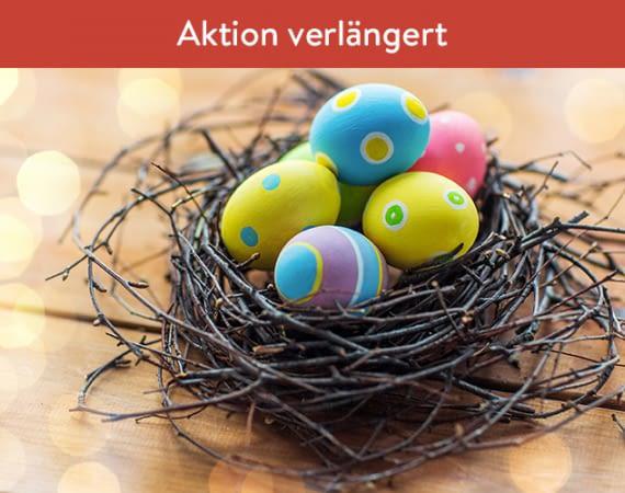 tink überrascht seine Kunden zu Ostern mit Gratisgeschenken
