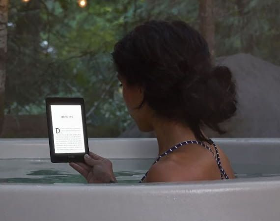 Amazon Kindle Paperwhite ist ein wasserdichter eReader