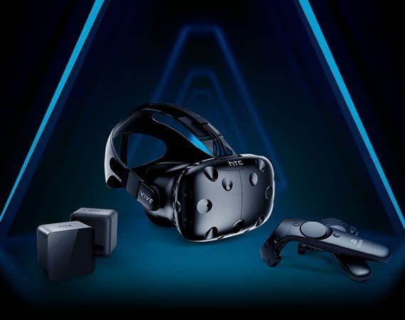 Das HTC VIVE VR-System eröffnet neue begehbare Welten in der virtuellen Welt