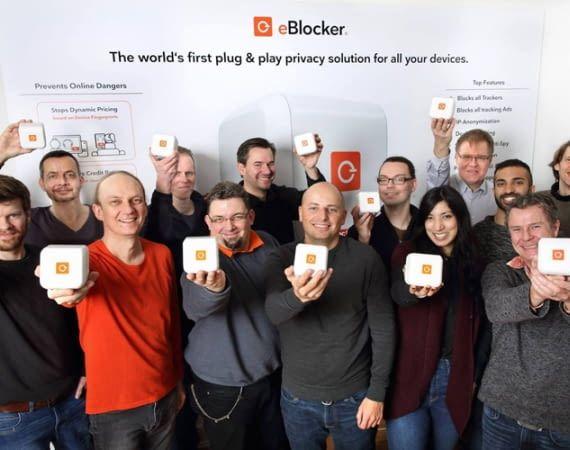 eBlocker anonymisiert die tatsächliche IP-Adresse
