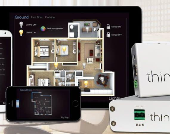 Die All-In-One-Lösung zur Gebäudeautomation läuft mit iOS, Android und Windows
