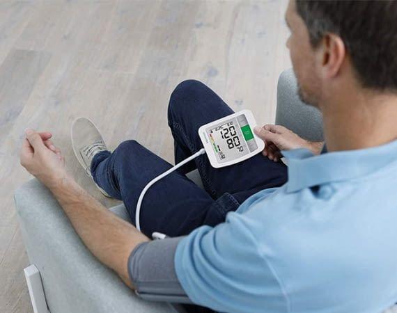 Dieses Blutdruckmessgerät kann auch von zwei verschiedenen Nutzern verwendet werden