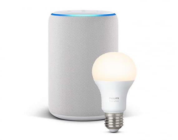 Amazon Echo Plus hat den für die Philips Hue Leuchtmittel nötigen Zigbee-Standard bereits integriert