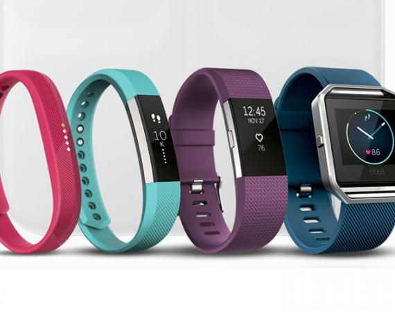 Fitbit bietet eine Vielzahl unterschiedlicher Fitnesstracker an
