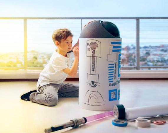 Big-I Roboter von NXROBO