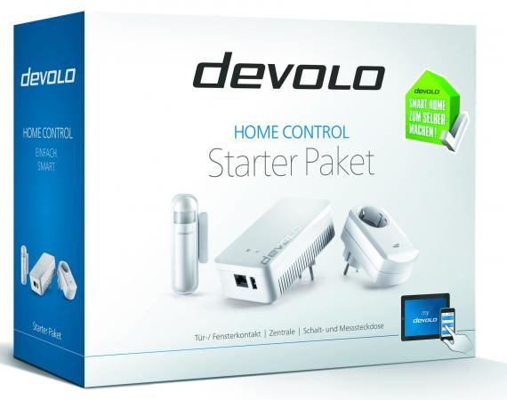 Devolo HomeControl Starter-Pack @devolo.de