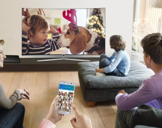 SmartThings Smart Home System mit Smart TV