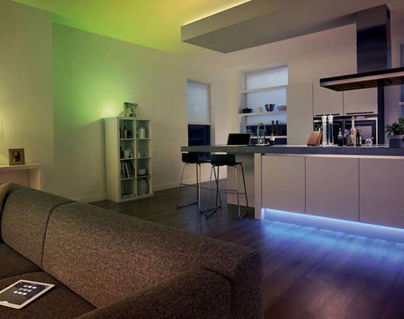 Abbildung des Philips Hue LightStrips Plus für das Smart Home