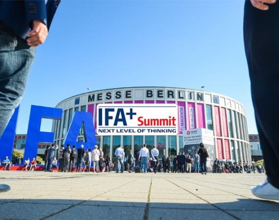 Der IFA+ Summit findet am 2. und 3. September 2018  in Halle 26b statt