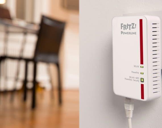 Die AVM FRITZ!Powerline Zwischenstecker gibt es einzeln oder in praktischen Sets