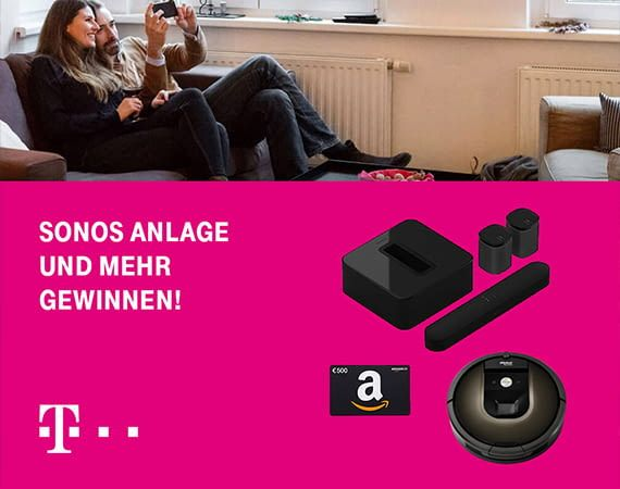 Smart Home Gewinnspiel Telekom