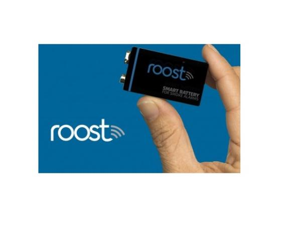 Roost Smart Battery für den Rauchmelder