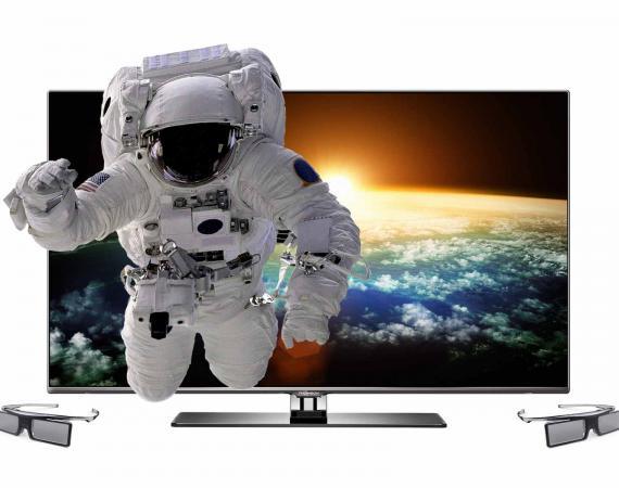 3D Fernsehen Thomson Smart TV Astronaut