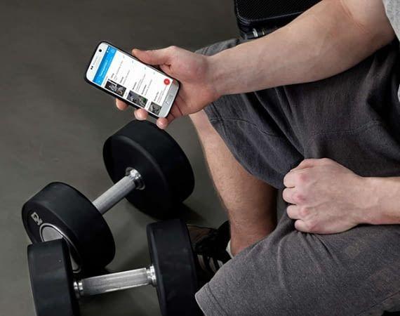 BestFit hat eine App entwickelt, die Personen beim Fitness-Training unterstützt
