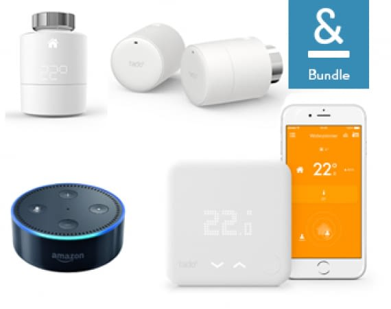 tado° Thermostate und Amazon Echo Dot im Bundle