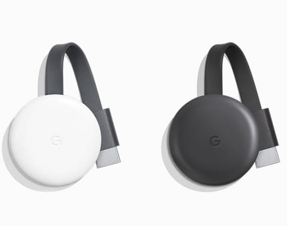 Google Chromecast 3. Generation im neuen Design