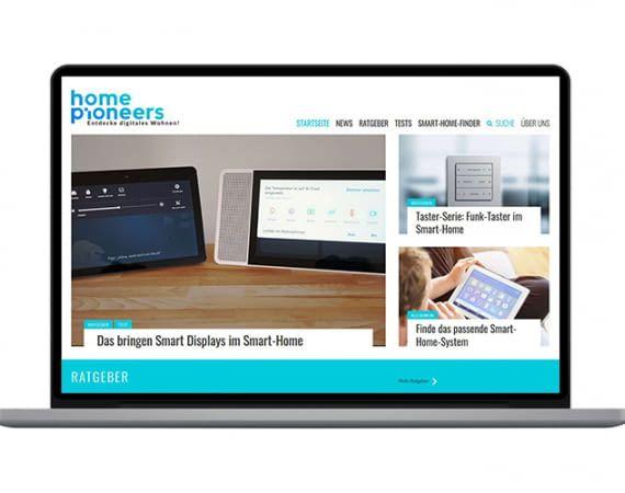 home pioneers - der Smart Home Expertenblog auf homeandsmart.de