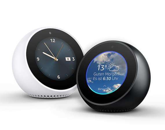Amazon Echo Spot: Der intelligente Mini-Lautsprecher mit Display ist ab sofort bestellbar