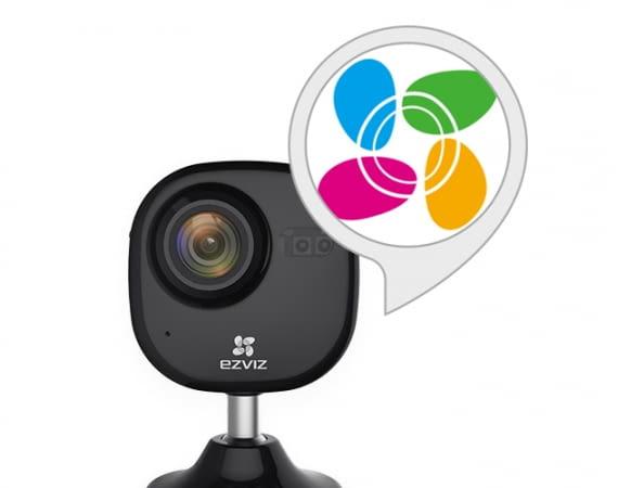 Der EZVIZ Skill ist mit vielen Kamera-Modellen von EZVIZ kompatibel