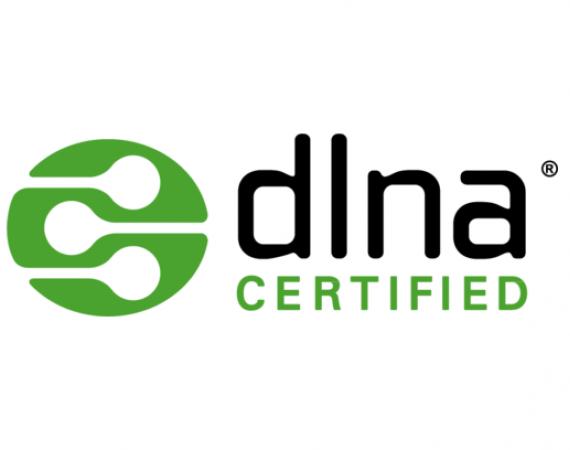 dlna Certified Logo der Digital Living Network Alliance