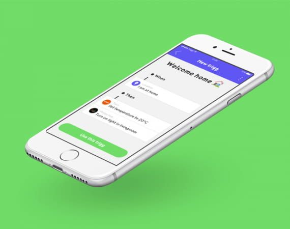 Die Olisto-App verbindet das Smart Home ähnlich wie IFTTT
