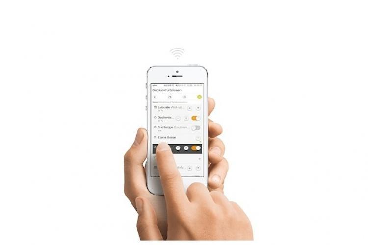 Steuerung des Gira eNet Funk-Systems per App