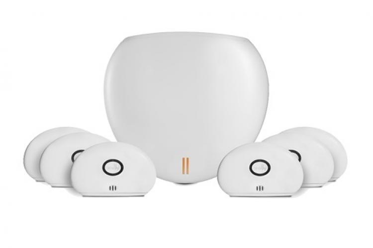 Der Wally Hub mit Sensoren - Schutz gegen Rohrbrüche und Wasserschäden