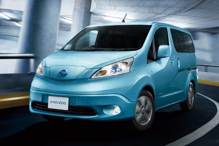 elektro-familienauto | nissan e-nv200 evalia im vergleich