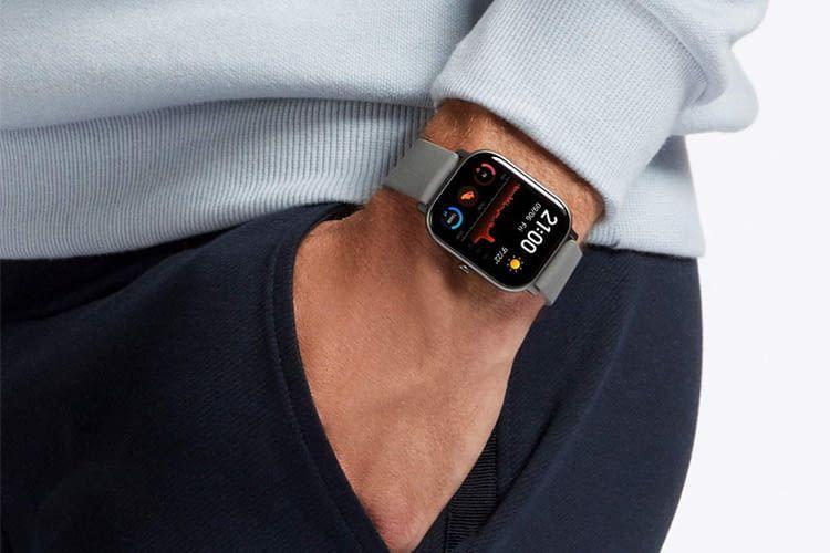 Optisch gibt es hier nur kaum Unterschiede zur Apple Watch, technisch viele