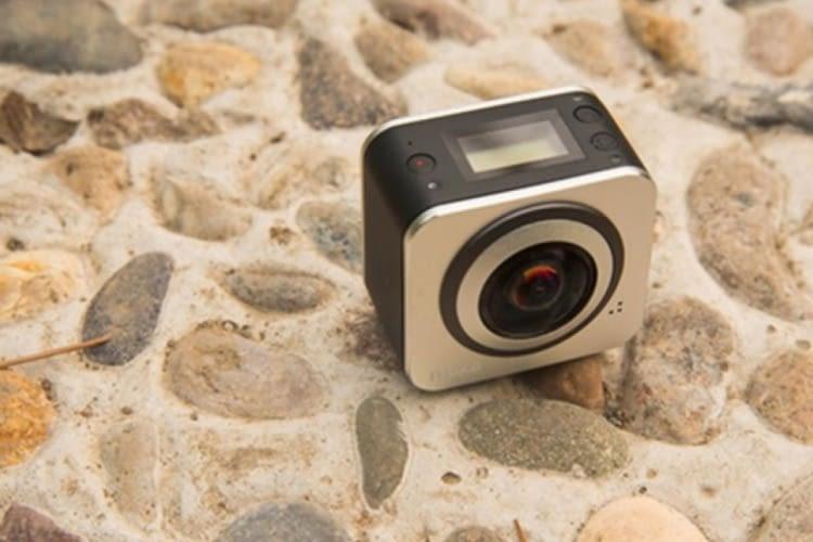 Die kleinste Kamera für 360 Grad Videoaufnahmen mit WLAN Anbindung