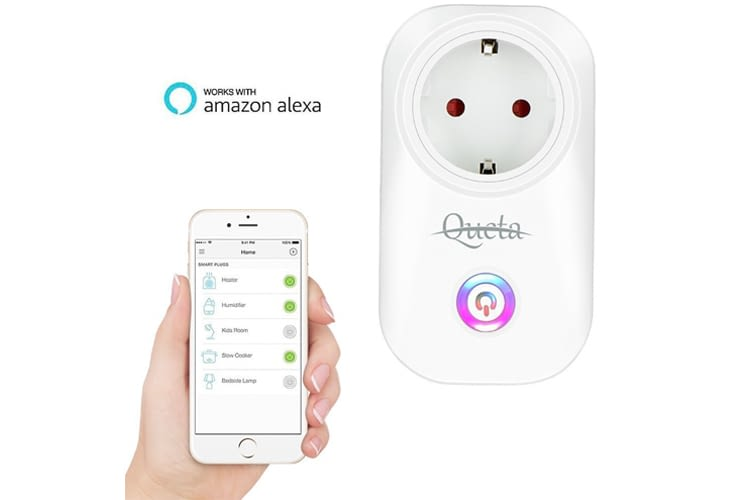 Queta – Unglaublich günstige Alexa-kompatible WLAN-Steckdose