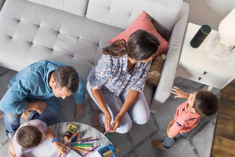 Unterhaltung mit Amazon Alexa im Smart Home